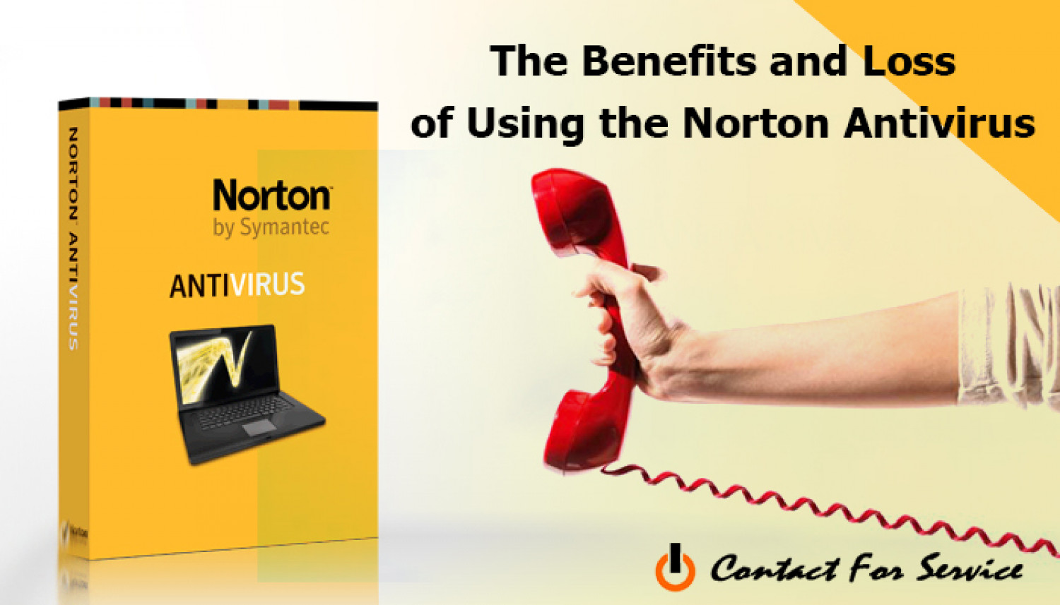 The Benefits and Loss of Using the Norton Antivirus Infographic