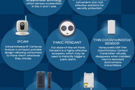 The Benefits of Security Cameras Infographic