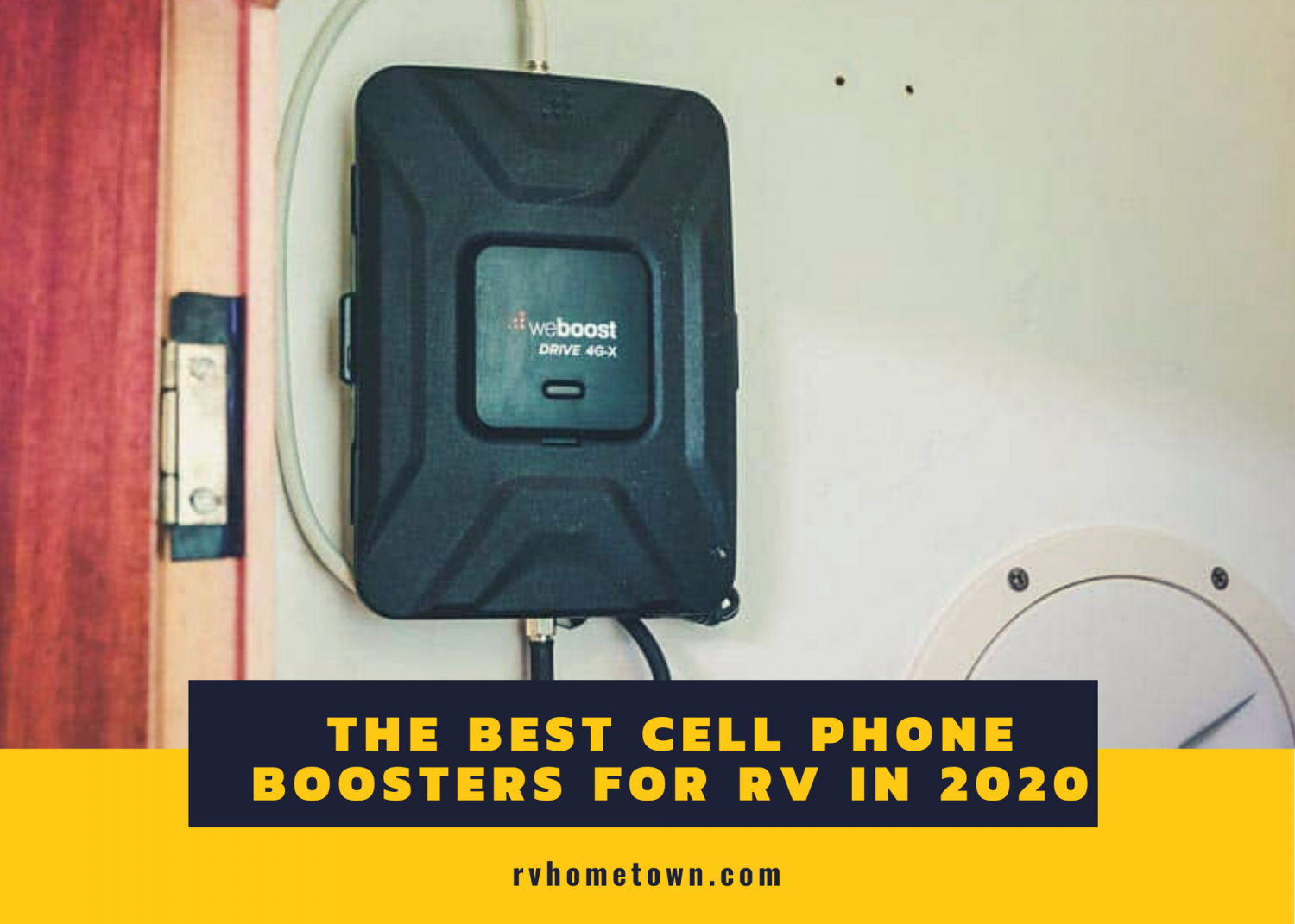 The Best Cell Phone Boosters for RV in 2020 Infographic