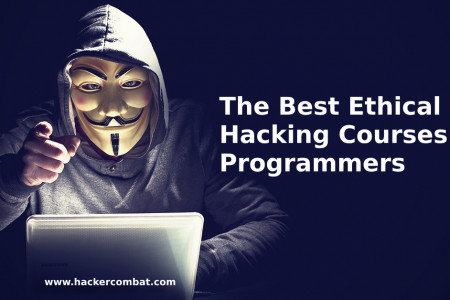 The Best Ethical Hacking Courses for Programmers Infographic