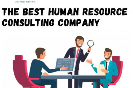 The Best Human Resource Consulting Company Infographic