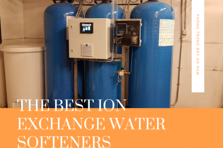 The Best Ion Exchange Water Softeners for 2020 Infographic
