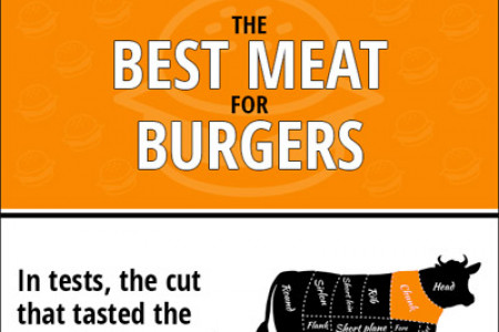 The Best Meat for Burgers Infographic
