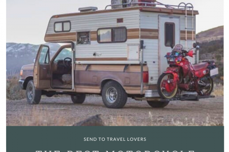 The Best Motorcycle Carrier for RV Infographic