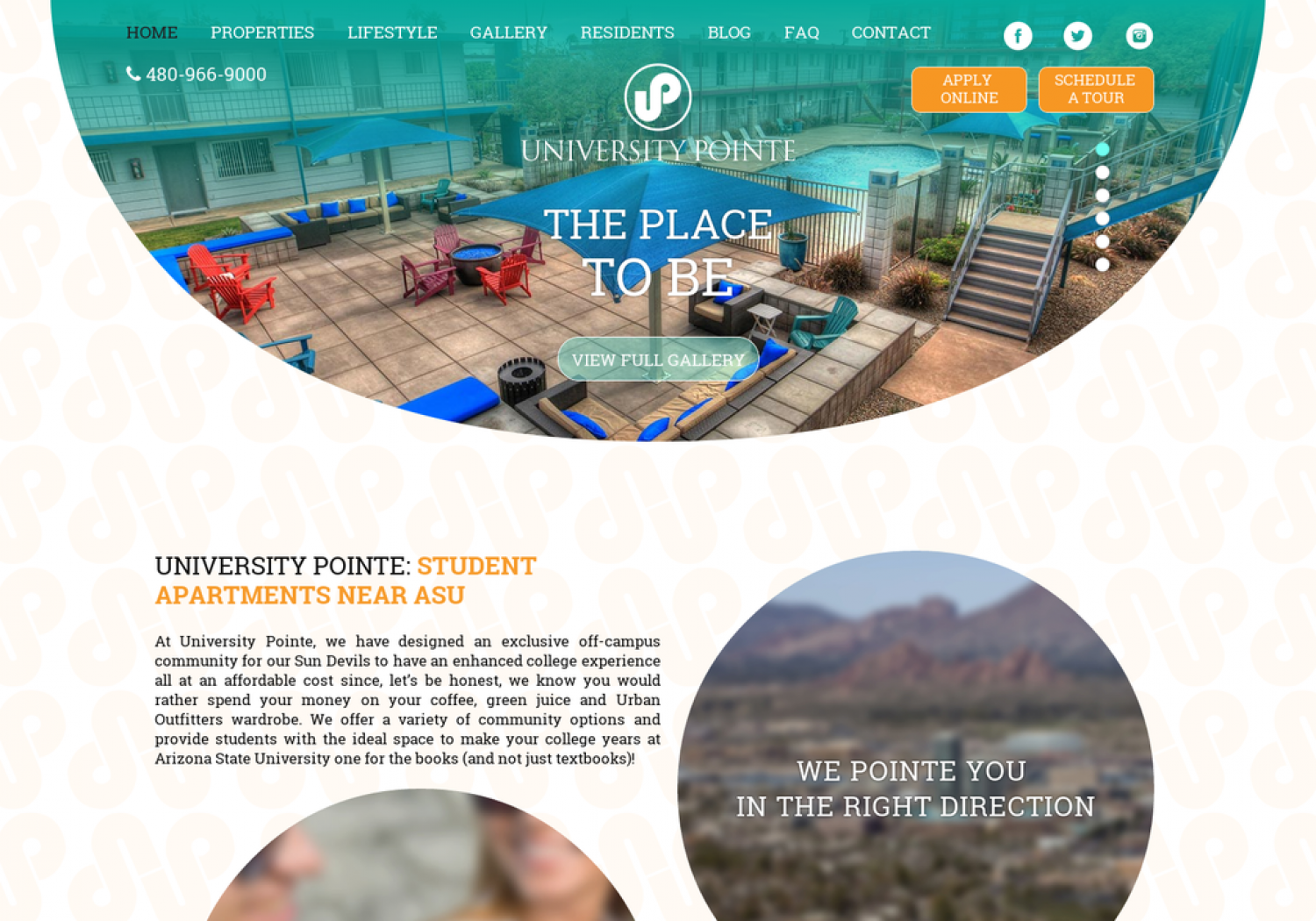 The Best Off-Campus ASU Apartments in Tempe, Arizona Infographic