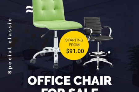 The Best OFFICE CHAIR FOR SALE Ever Infographic
