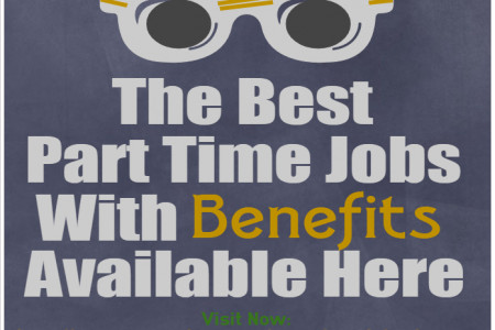 The Best Part time jobs in USA with Benefits & Details  Infographic