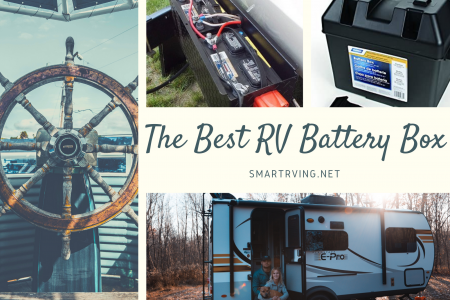 The Best RV Battery Box Infographic