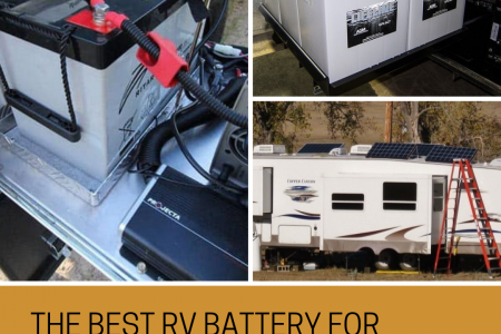 The Best RV Battery for Boondocking Infographic