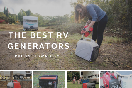 The Best RV Generators for 2020 Infographic