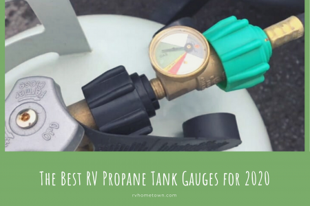 The Best RV Propane Tank Gauges for 2020 Infographic