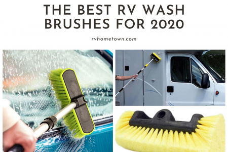 The Best RV Wash Brushes for 2020 Infographic