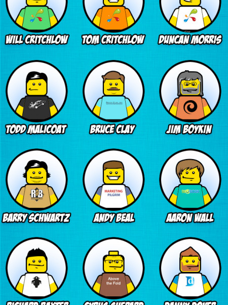The Best SEOs Depicted as LEGO People Infographic