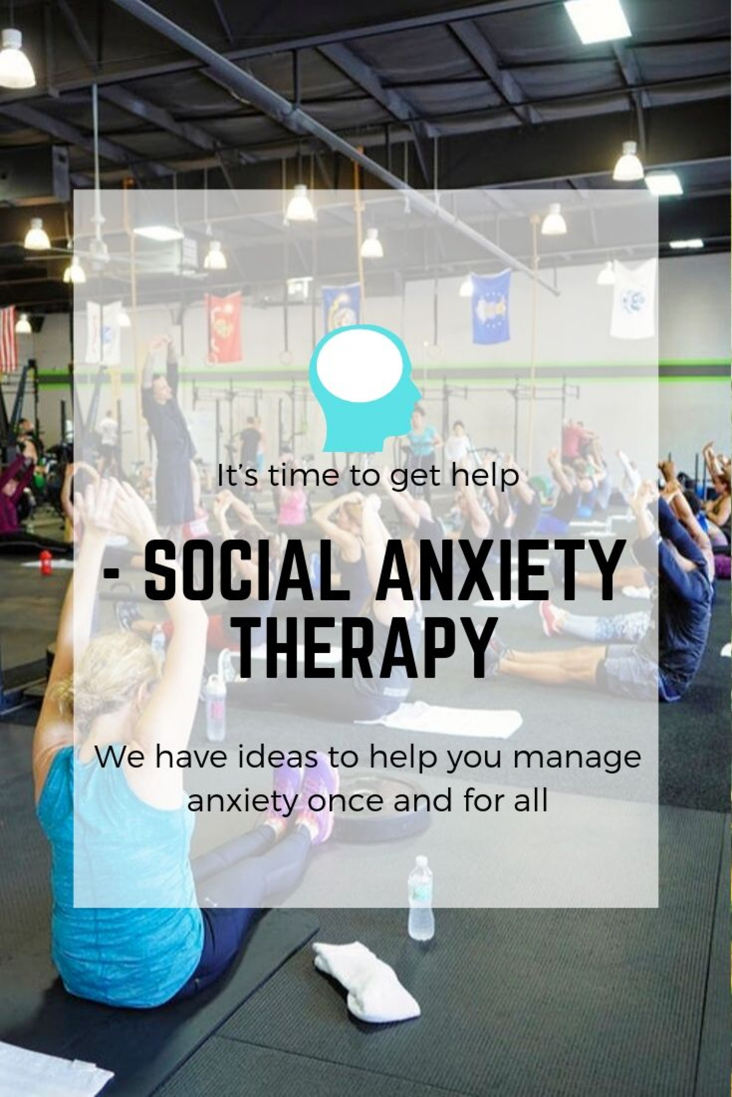 The best Therapy for Social Anxiety | Austin Bridges Therapy Infographic