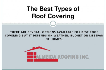 The Best Type of Roof Covering Infographic