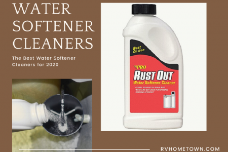 The Best Water Softener Cleaners for 2020 Infographic