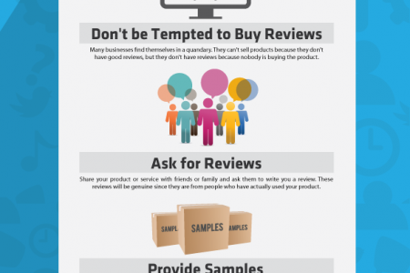 The Best Way to Get REAL Online Reviews Infographic