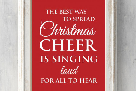 The best way to spread Christmas cheer, is singing loud for all to hear. Buddy the elf. Christmas Gift. All Prints BUY 2 GET 1 FREE Infographic