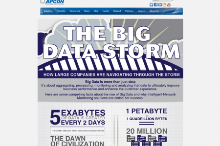 The Big Data Storm Infographic