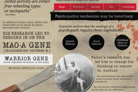 The Brain of a Serial Killer Infographic