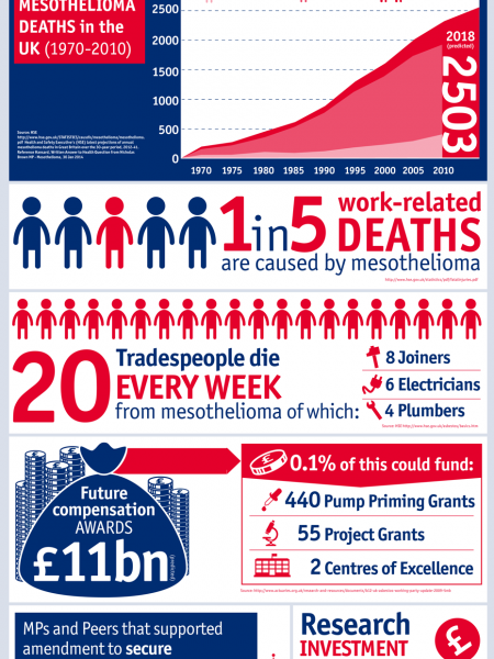 The Case for Mesothelioma Funding              Infographic
