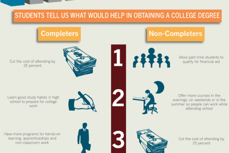 The Completion Crisis: What Students Have to Say Infographic