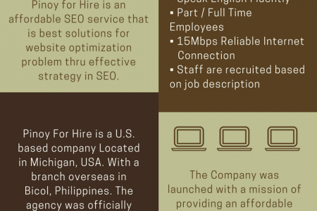 The Concept Behind Pinoy For Hire Infographic