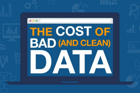 The Cost Of Bad (And Clean) Data Infographic