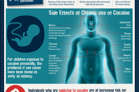 The Dangers of Crack Cocaine Infographic