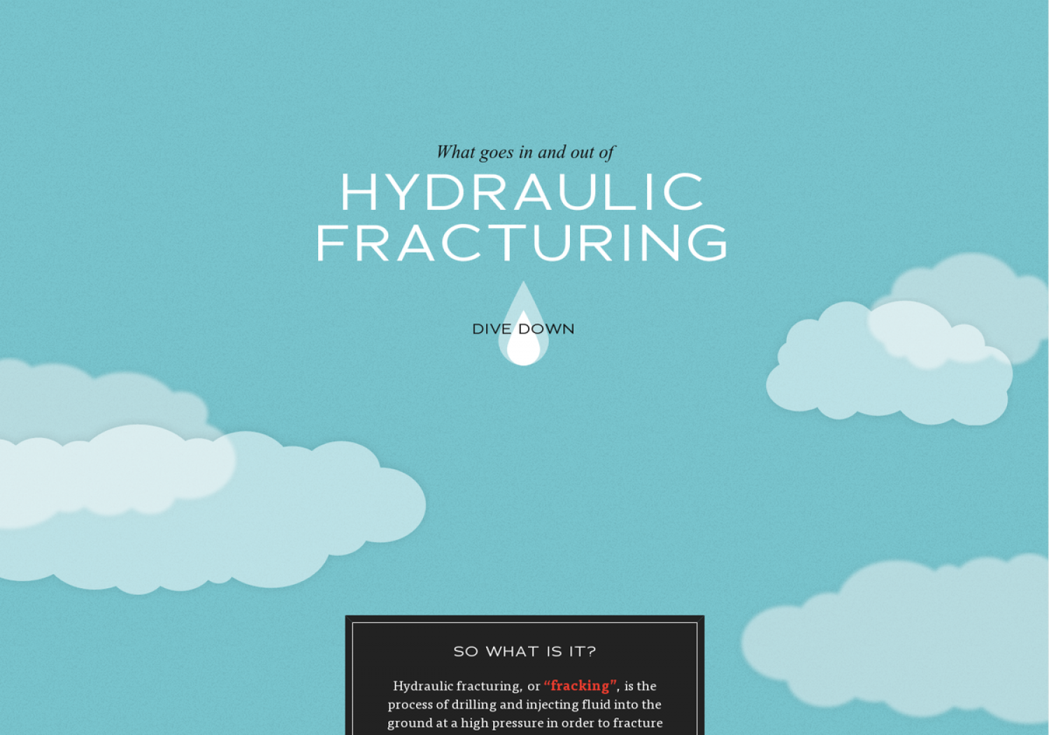 The Dangers of Natural Gas Harvesting Infographic