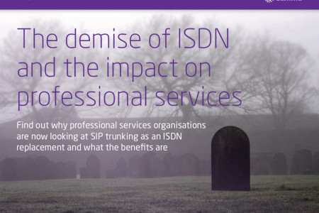 The Demise of ISDN and the Impact on Professional Services Infographic