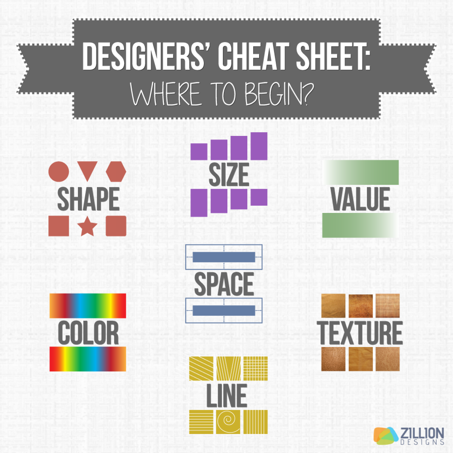 The Design Cheat Sheet Infographic
