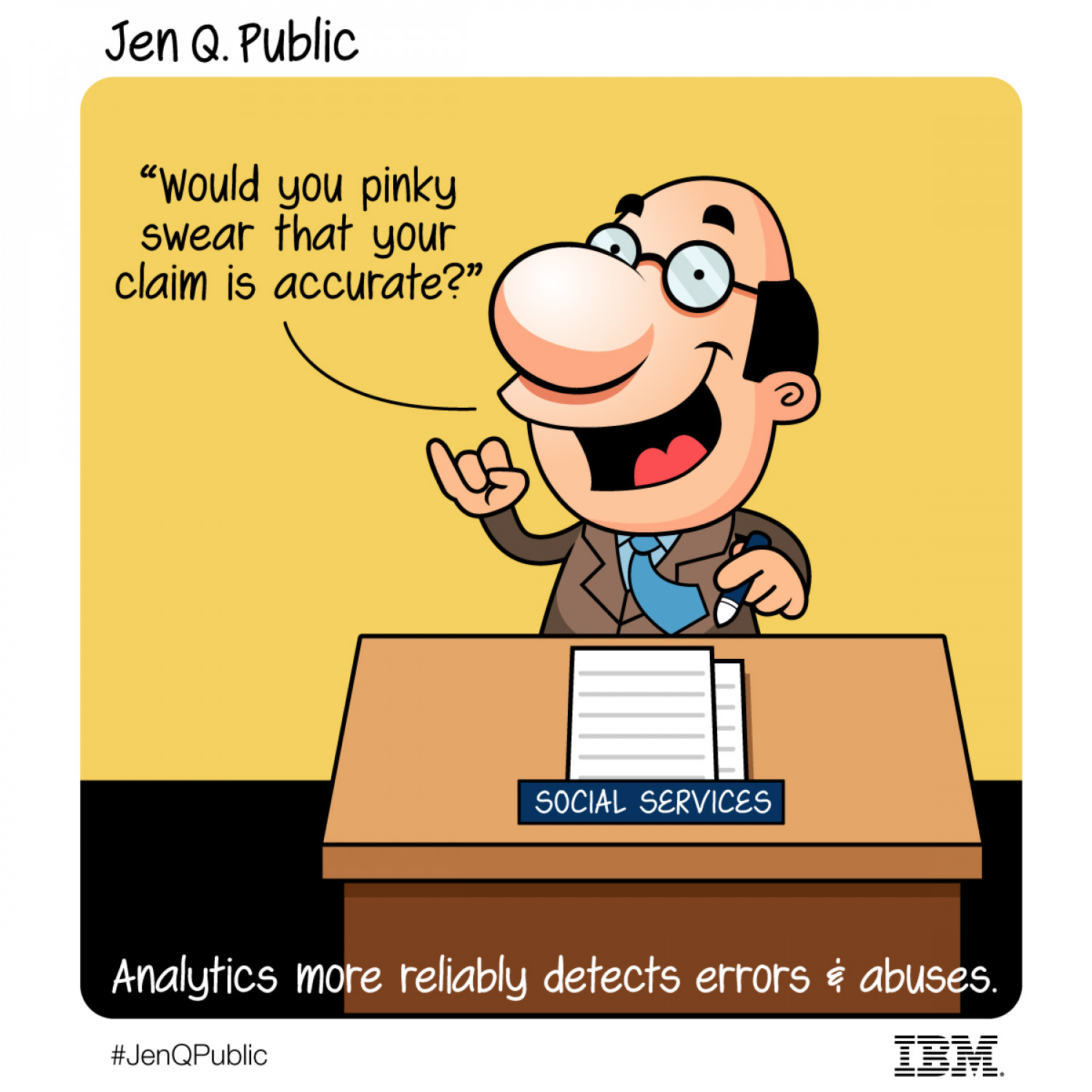 The Diary of Jen Q. Public: Pinky swears and analytics Infographic