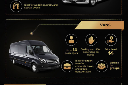 The Difference Between Limousine Types Infographic