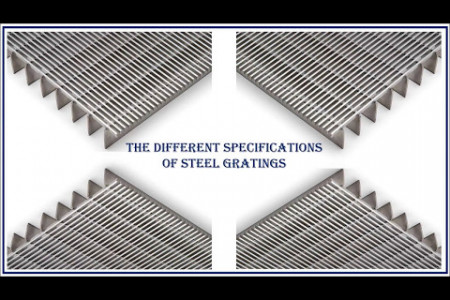 The Different Specifications of Steel Gratings Infographic
