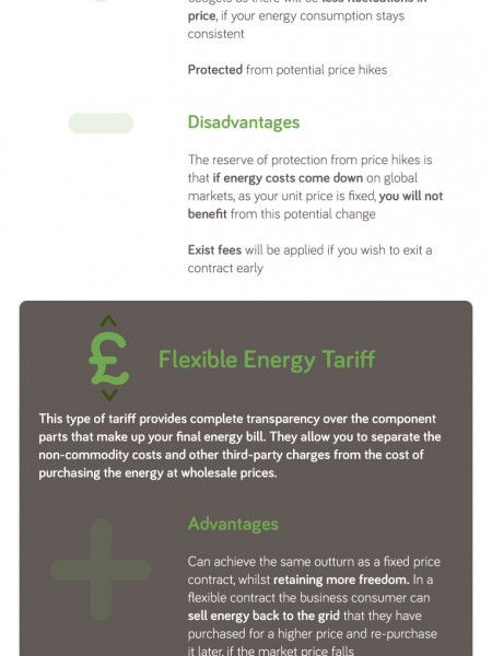 The Different Ways to Procure Business Energy Infographic