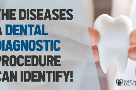 The Diseases A Dental Diagnostic Procedure Can Identify Infographic