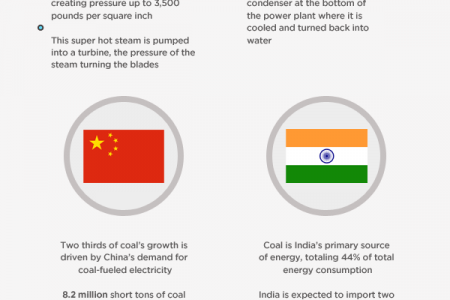 The Dominance of Coal-Fueled Power Plants  Infographic