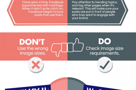 The Do's and Don'ts of Facebook Marketing Infographic