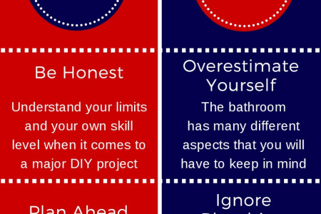 The Do's and Don'ts of Remodeling Your Bathroom Infographic