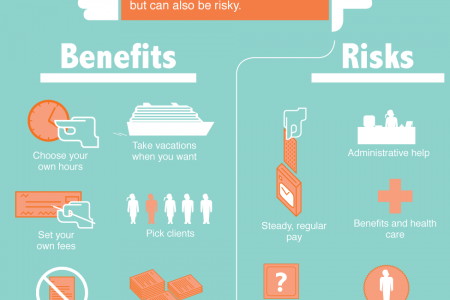 The Economics of Becoming a Consultant Infographic