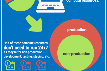 The Enormous Size of Cloud Waste Infographic