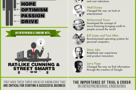 The Entrepreneurial Mind Infographic