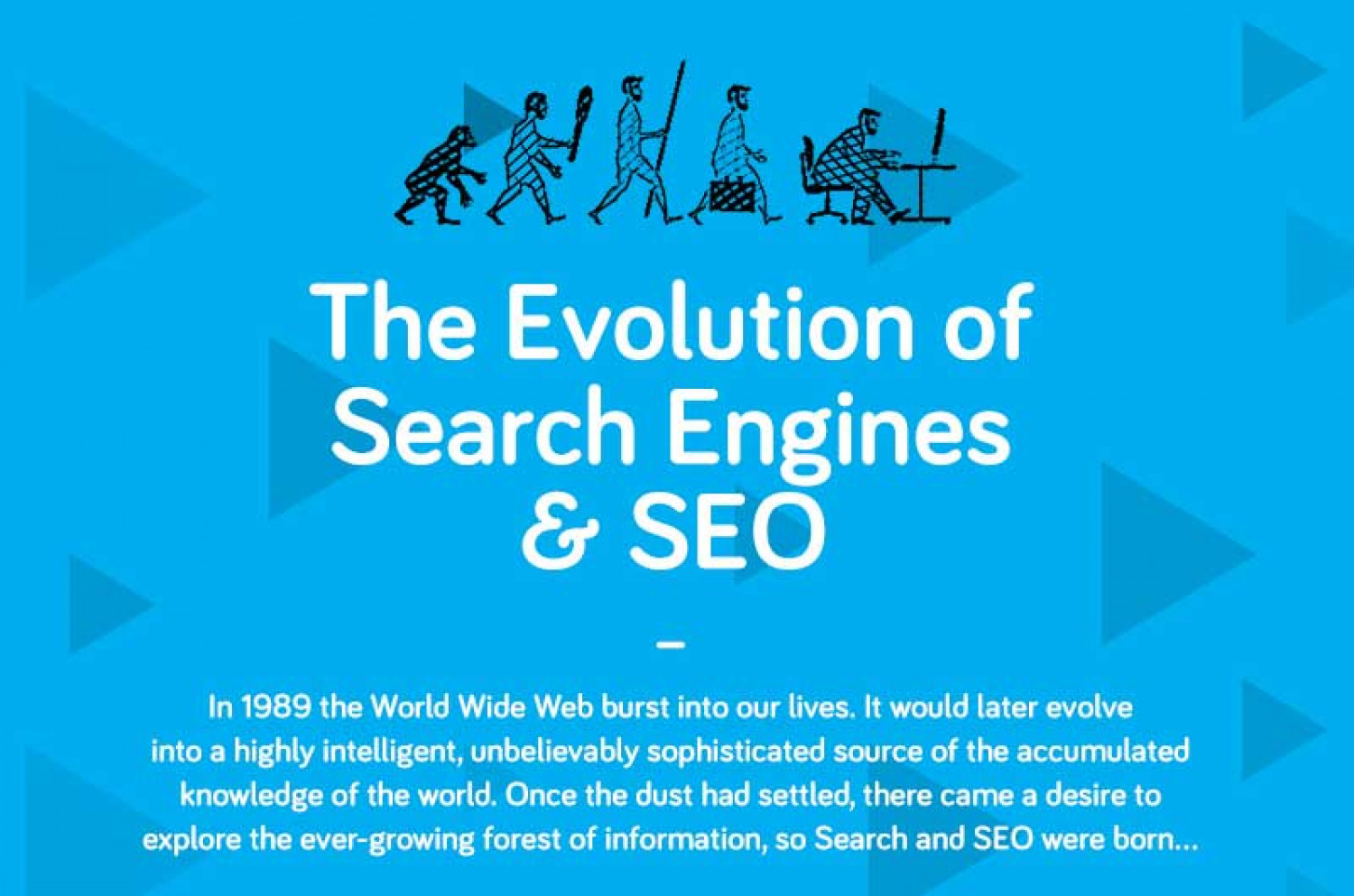 The Evolution of Search Engines & SEO Infographic