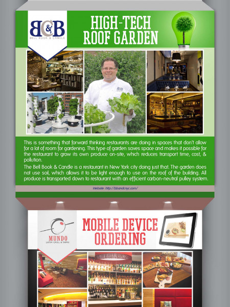The Evolution of the Modern Restaurant Infographic