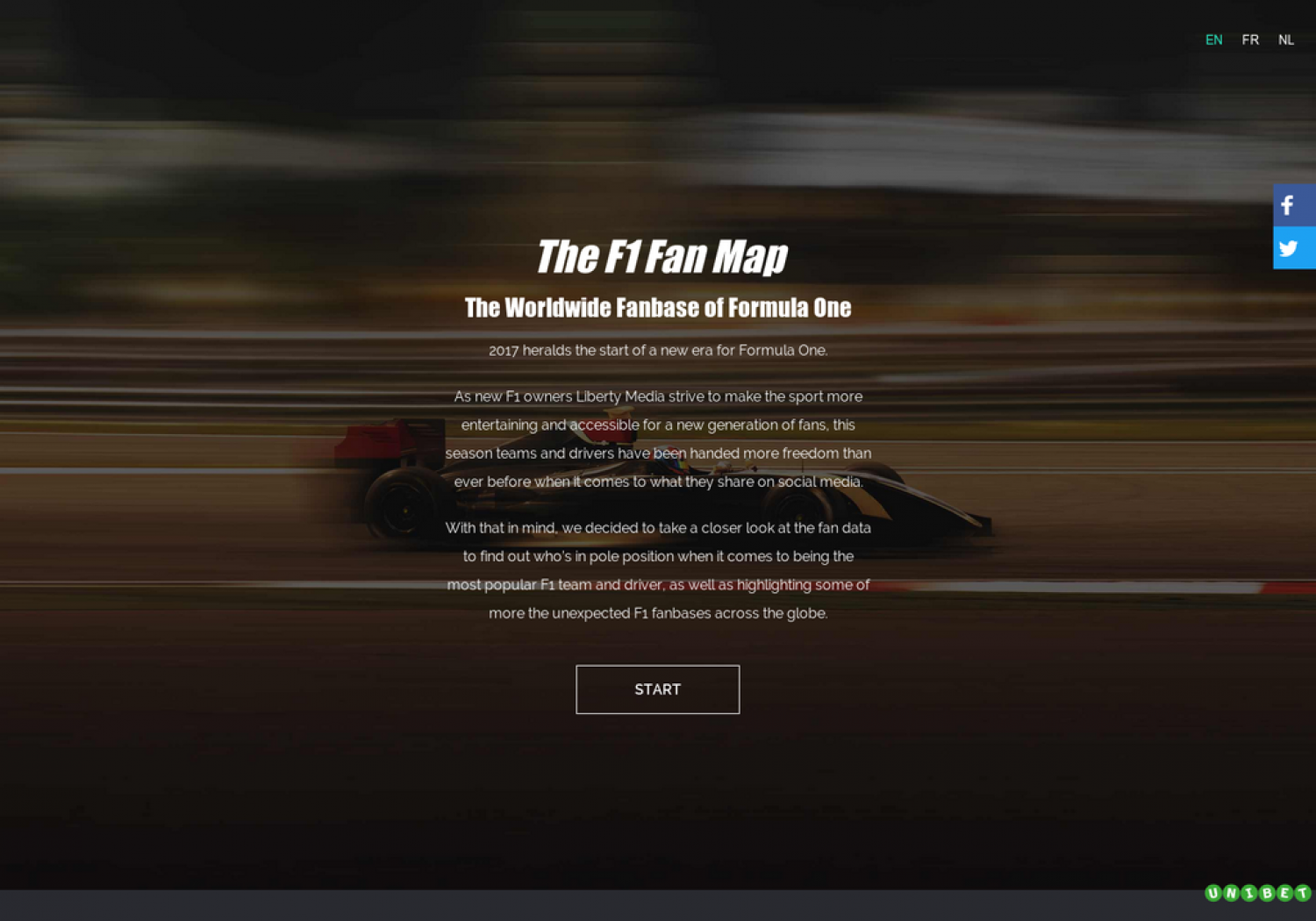 The F1 Fan Map - The Worldwide Fanbase of Formula One Infographic