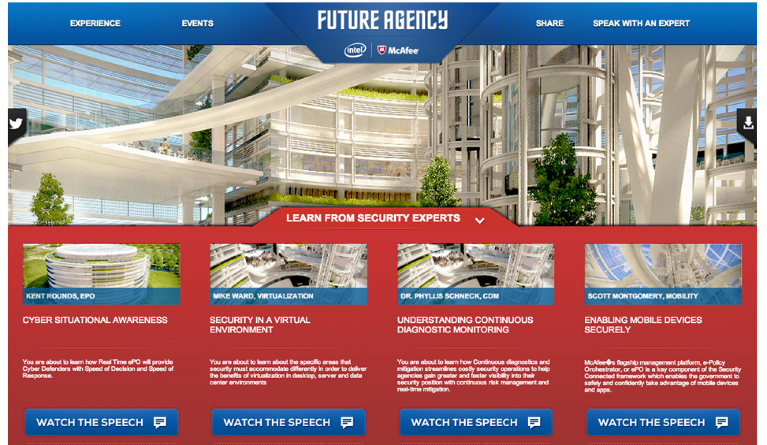 The Future Agency - McAfee + Intel Infographic