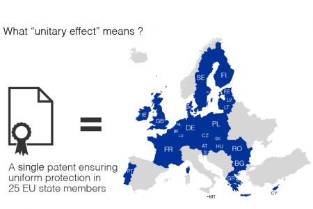 The future European patent with unitary effect explained in three simple maps Infographic