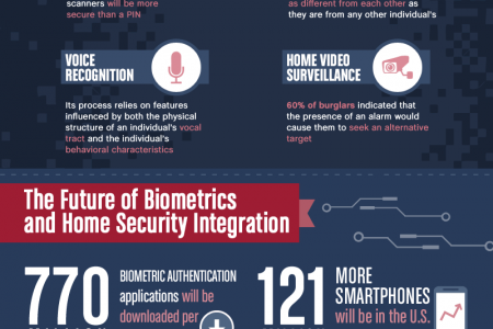 The Future of Biometrics and Home Video Surveillance Infographic