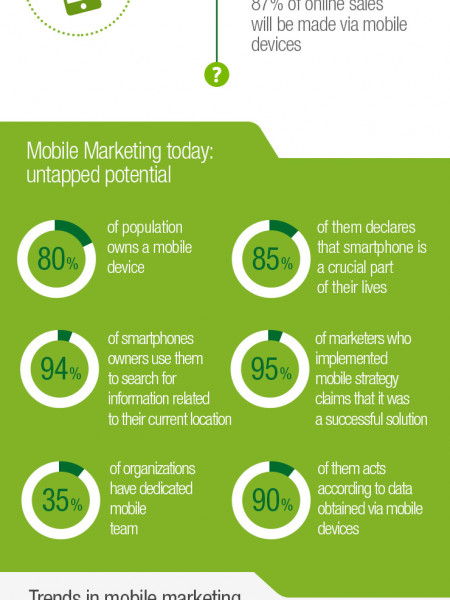 The Future of Mobile Marketing Infographic
